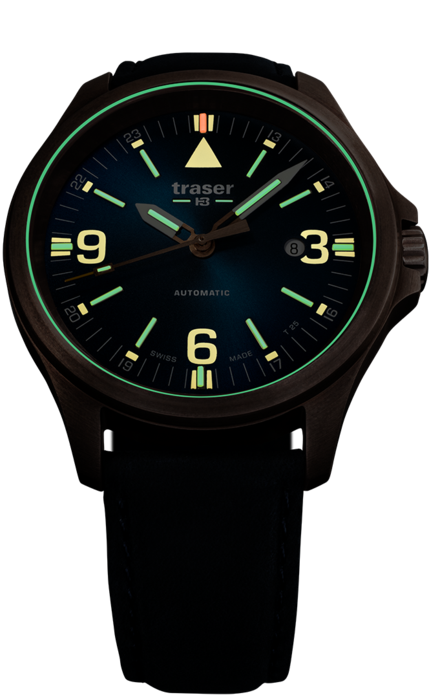 P67 Officer Pro Automatic Bronze Blue - traser Watches 8fea5a8859a